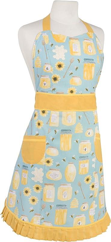 Now Designs Betty Apron Honeybee