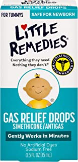Little Remedies Gas Relief Drops | Berry Flavor | Safe For Newborns | 0.5 FL OZ