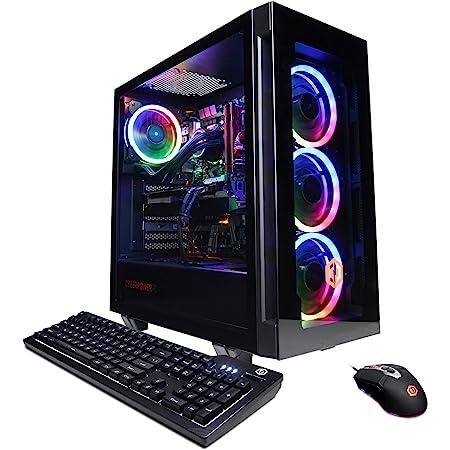 CyberpowerPC Gamer Supreme Liquid Cool Gaming PC, AMD Ryzen 7 3800X 3.9GHz, GeForce RTX 3060 12GB, 16GB DDR4, 1TB NVMe SSD, WiFi Ready & Win 10 Home (SLC8260A5)