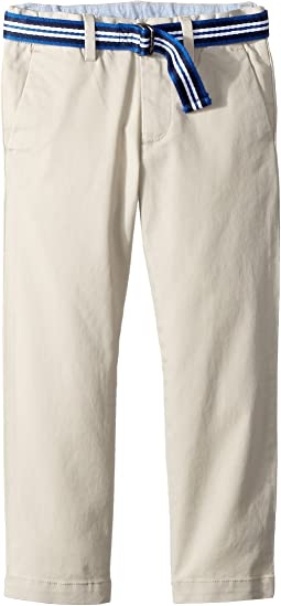 Belted Stretch Skinny Chino (Toddler)