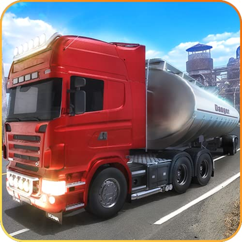 Öl-Fracht-LKW, der Transport-Tycoon-Simulator fährt: Öl-Tanker-Transporter-Abenteuer-Simulationsspiel 2018