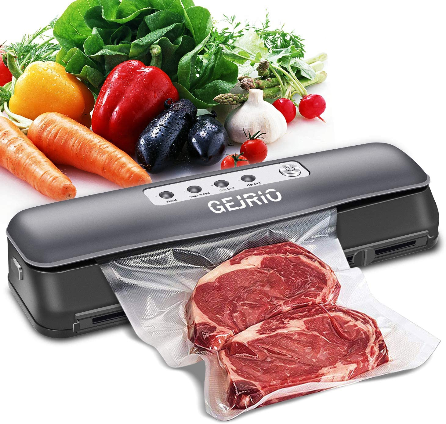 GEJRIO Vacuum Sealer Machine for Sav Food Lowest price challenge Surprise price Automatic