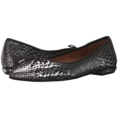French Sole Anaconda (Black Metallic Snake) Women