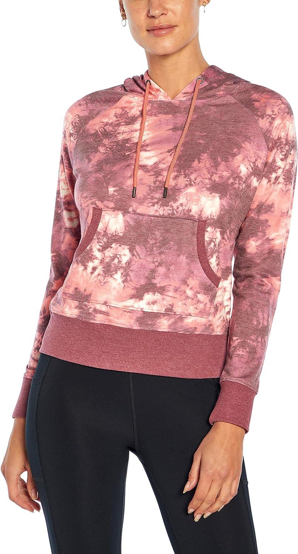 Jessica Simpson Sportswear Women's Coco Crop Pullover Hoodie