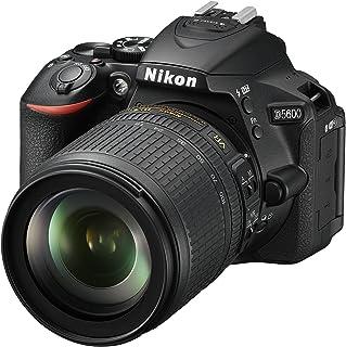 "Nikon D5600 - Cámara réflex de 24.2 MP (pantalla táctil de 3"", Full HD) negro - kit con objetivo AF-S DX 18 - 105 mm VR, v..."