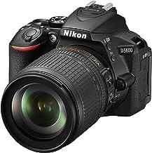 Nikon D5600 + AF-S DX 18-105mm G ED VR + 8GB SD Juego de cámara SLR 24,2 MP CMOS 6000 x 4000 Pixeles Negro - Cámara Digital (24,2 MP, 6000 x 4000 Pixeles, CMOS, Full HD, Pantalla táctil, Negro)