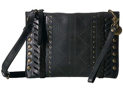 Lucky Brand Tivy Small Crossbody (Black) Cross Body Handbags