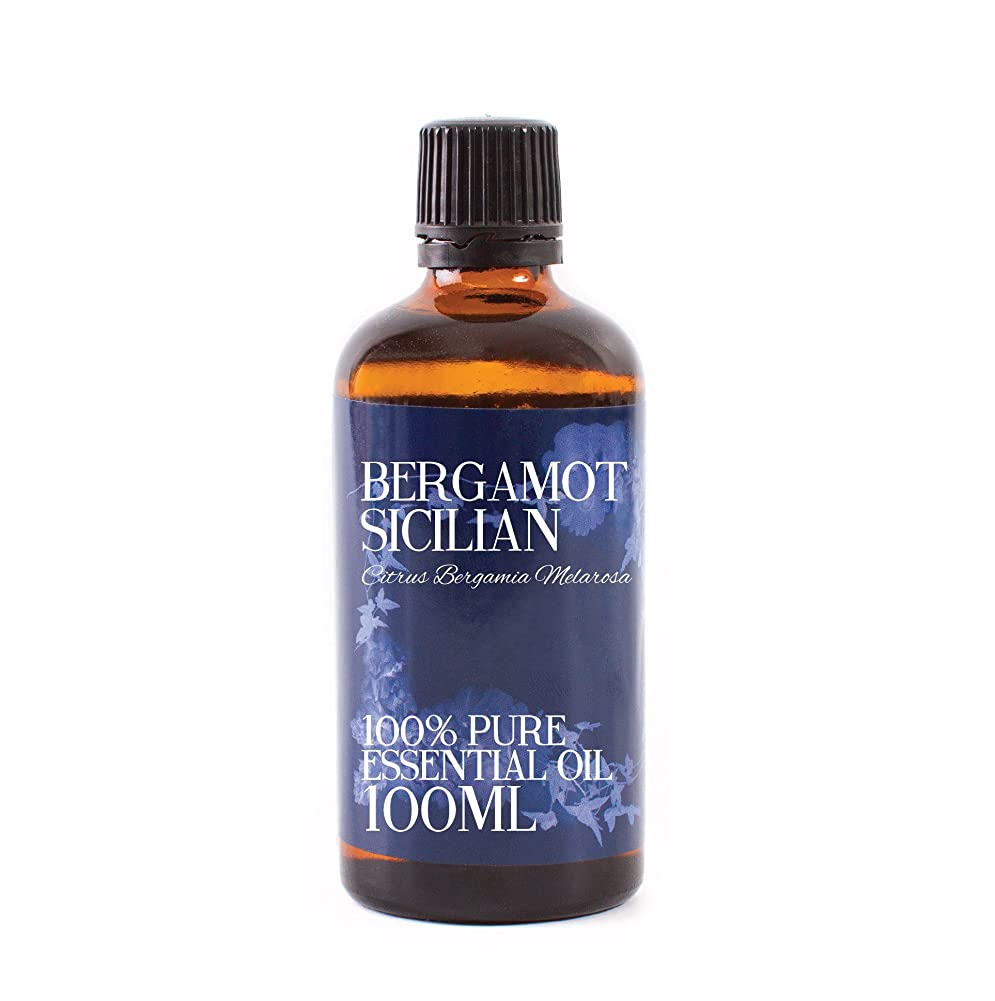 祝福首相調整Mystic Moments | Bergamot Sicilian Essential Oil - 100ml - 100% Pure