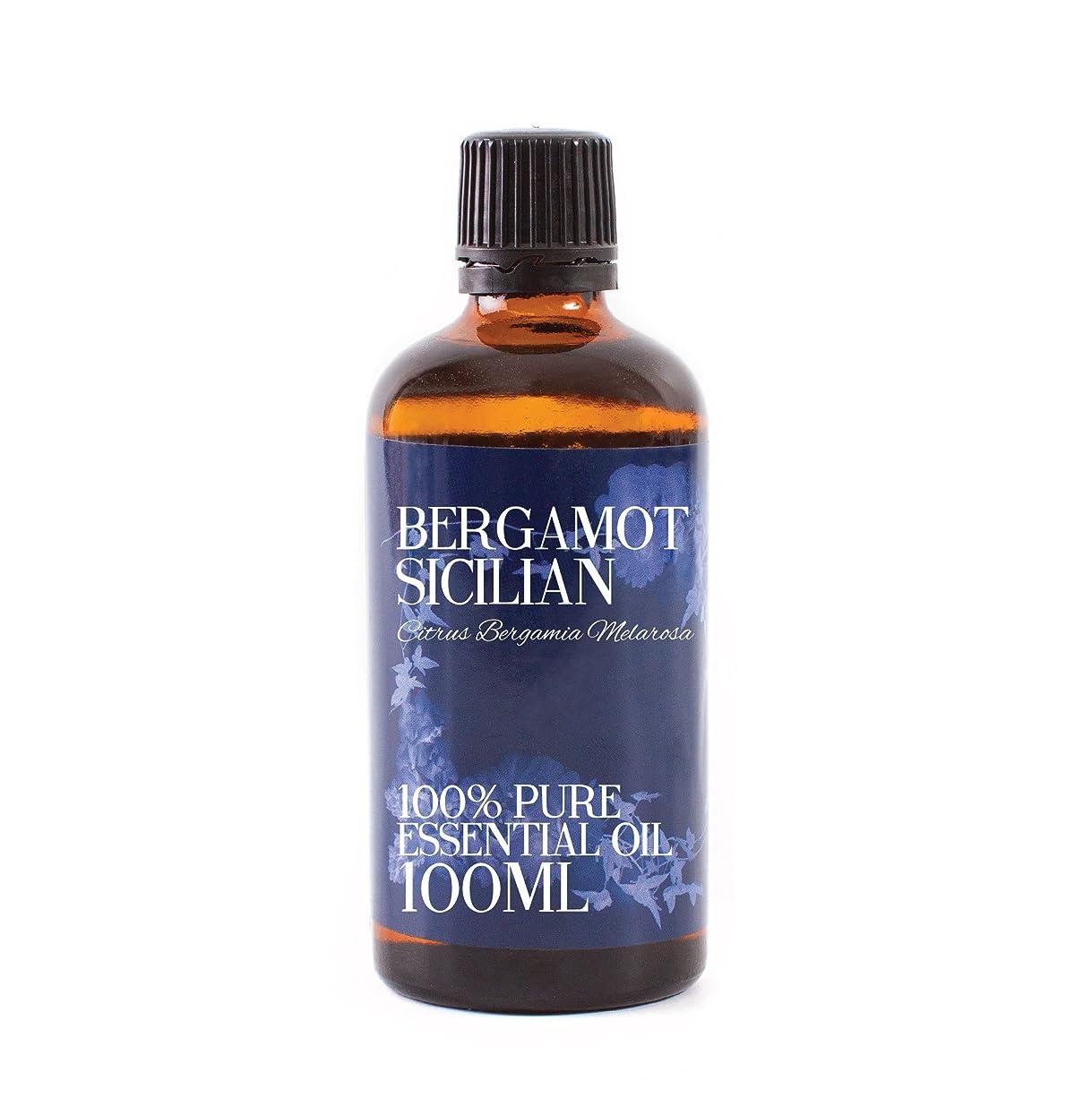 湿度オーチャードスクラップブックMystic Moments | Bergamot Sicilian Essential Oil - 100ml - 100% Pure