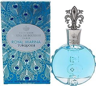 Royal Marina Turquoise by Princesse Marina De Bourbon Eau de Parfum Spray Fragrance for Women Freshmloral Scent With Notes...