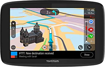 TomTom Go Supreme 6 WiFi with Lifetime Traffic and Maps (Us-Can-Mex), Spoken Turn-by-Turn Directions, Advanced Lane Guidance