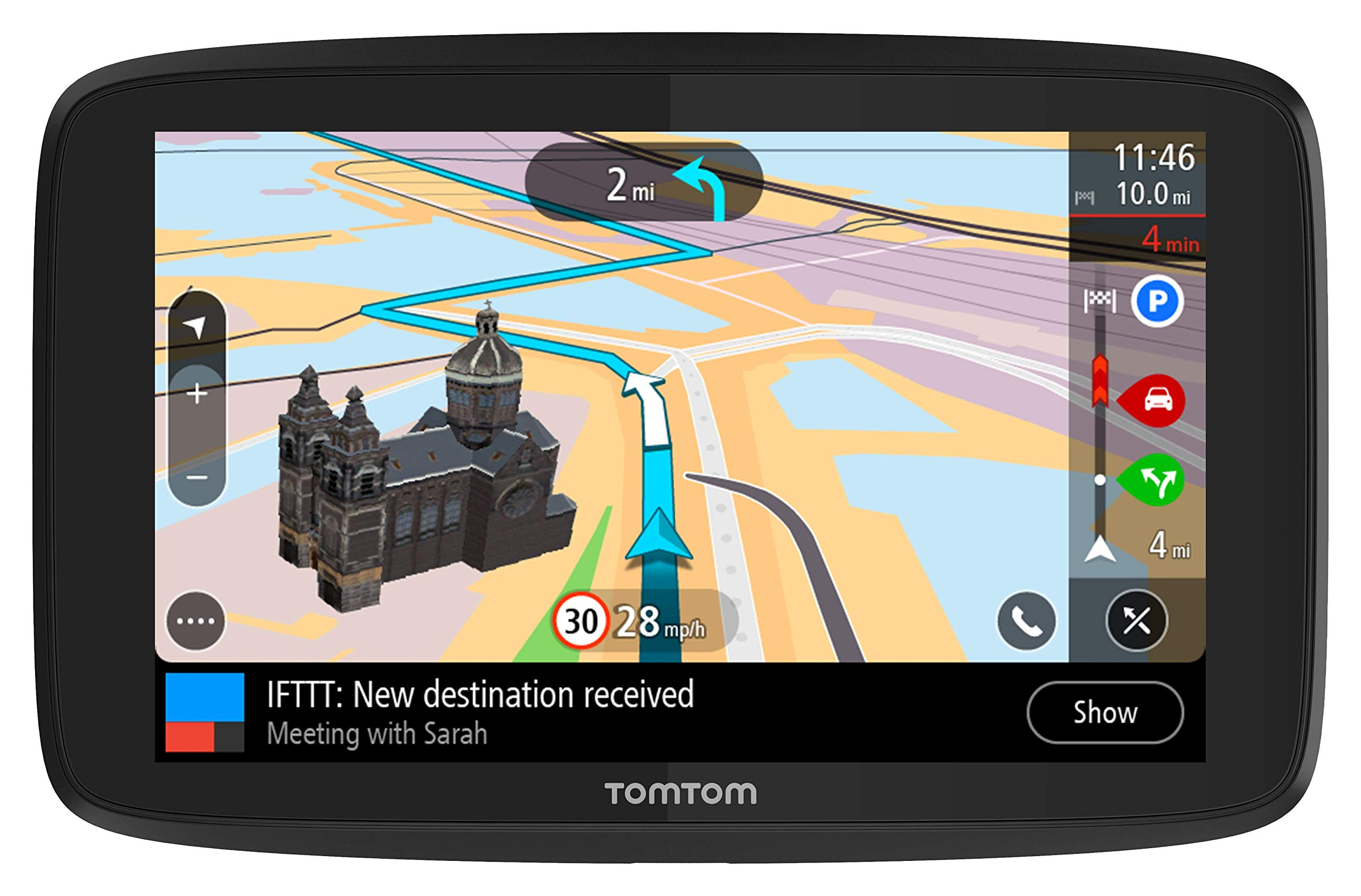 Navigation TomTom Lifetime Us Can Mex Directions
