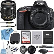 $604 » Nikon D5600 24.2MP DSLR Digital Camera with NIKKOR 18-55mm VR Lens + SanDisk 64GB Memory Card + Hi-Speed USB Card Reader +...