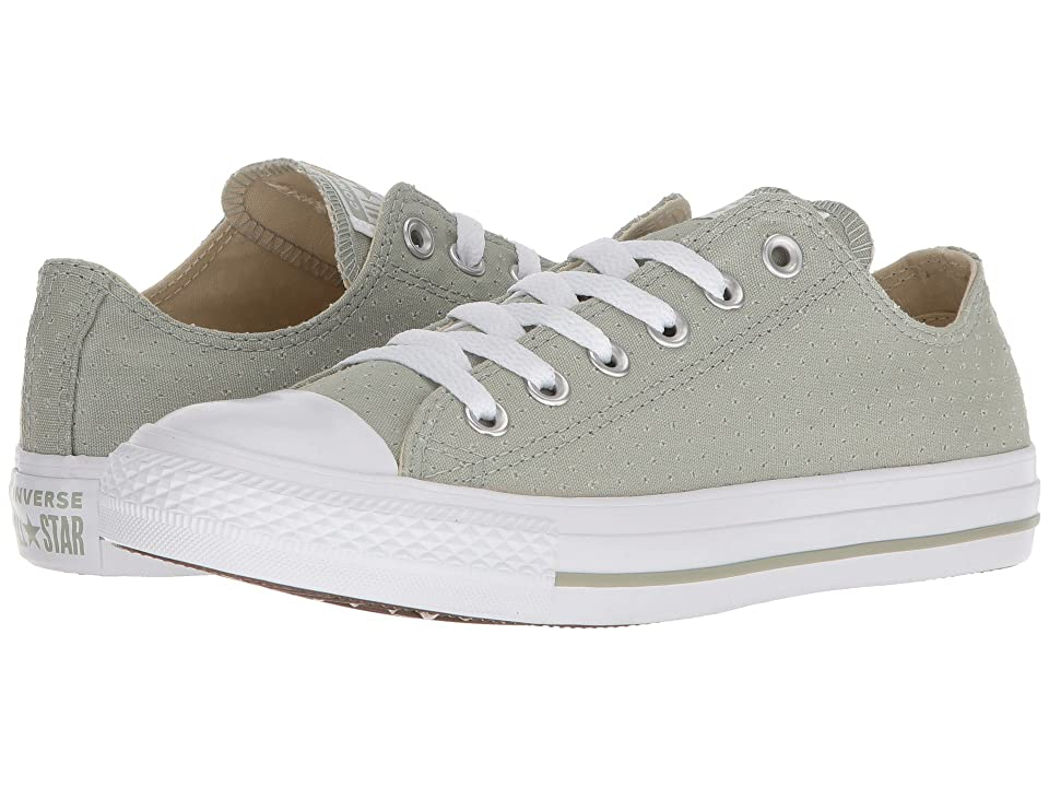 Converse Chuck Taylor(r) All Star(r) Ox Perf Canvas (Surplus Sage/White/White) Women