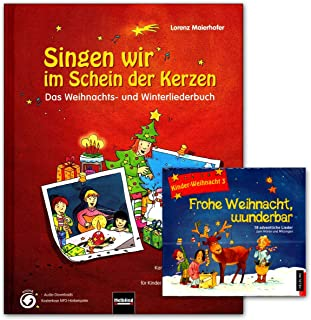 Helbling Verlag 9783850615655 9783850618724 Singen Nous sommes un livre de Noël et d'hiver.