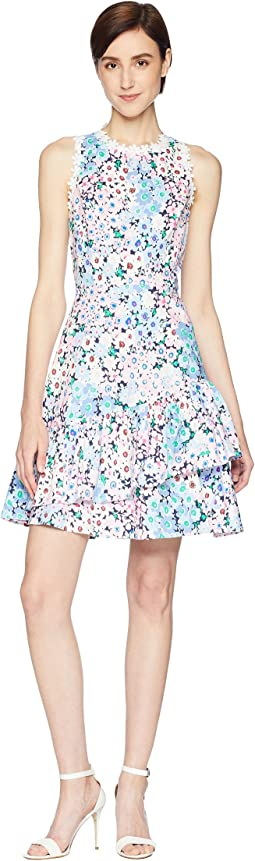 Kate Spade New York Daisy Garden Poplin Dress