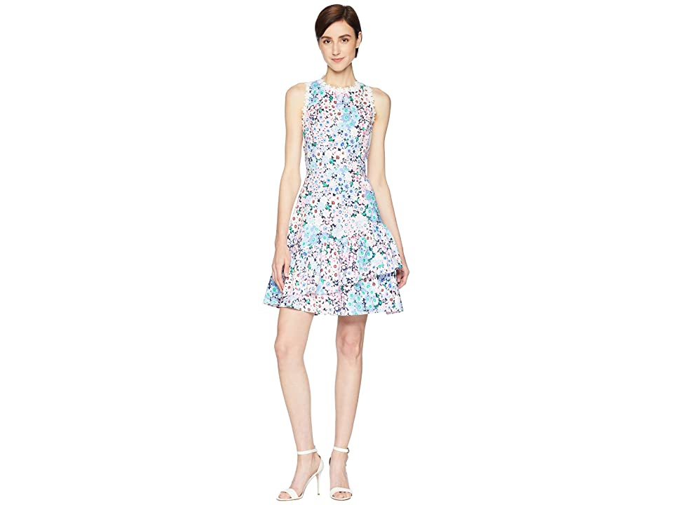 Kate Spade New York Daisy Garden Poplin Dress (Multi) Women