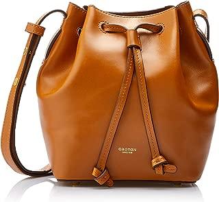 Oroton Women's Escape Mini Bucket Bag, Cognac, One Size