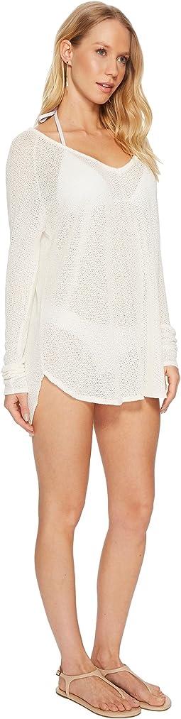 Crème Drifter Beach Sweater