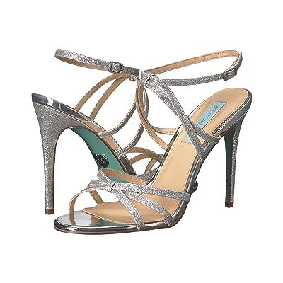 Blue by Betsey Johnson Myla (Silver Glitter) High Heels