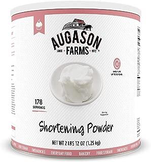 Augason Farms Shortening Powder 2 lbs 12 oz No. 10 Can