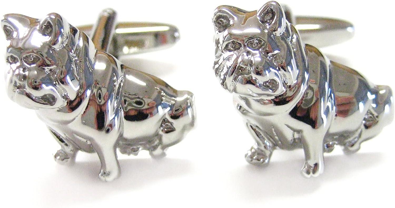 Kiola Designs Bulldog Cufflinks