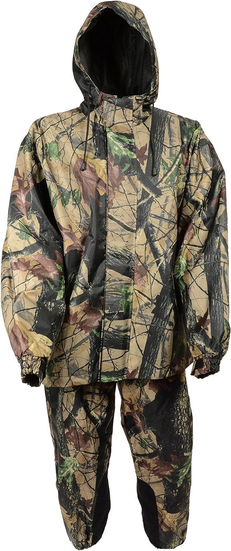 Milwaukee Men's Jungle Camouflage Performance Rain Suit (Jungle