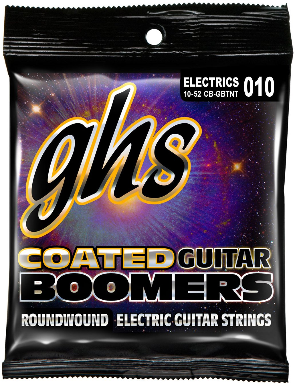 Cheap GHS Strings Coated Boomers Nickel-Plated Electric Guitar Strings Thin & Thick (.010.052) (CB-GBTNT Black Friday & Cyber Monday 2019