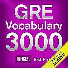 GRE Vocabulary 3000: Official Test Prep