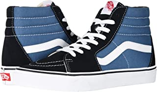 Vans SK8-Hi Canvas Unisex-Adult Hi-Top Sneaker Black