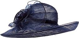 Crinoline Round Crown Hat