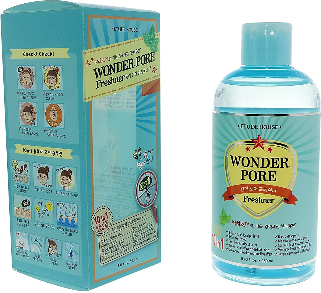 ペア成功するお風呂を持っているエチュードハウス(ETUDE HOUSE) ワンダーP 化粧水 (250ml)