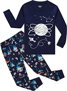 glow in the dark pajamas 4t