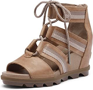Women's Joanie II Lace, Leather or Suede Sandal with Wedge Heel
