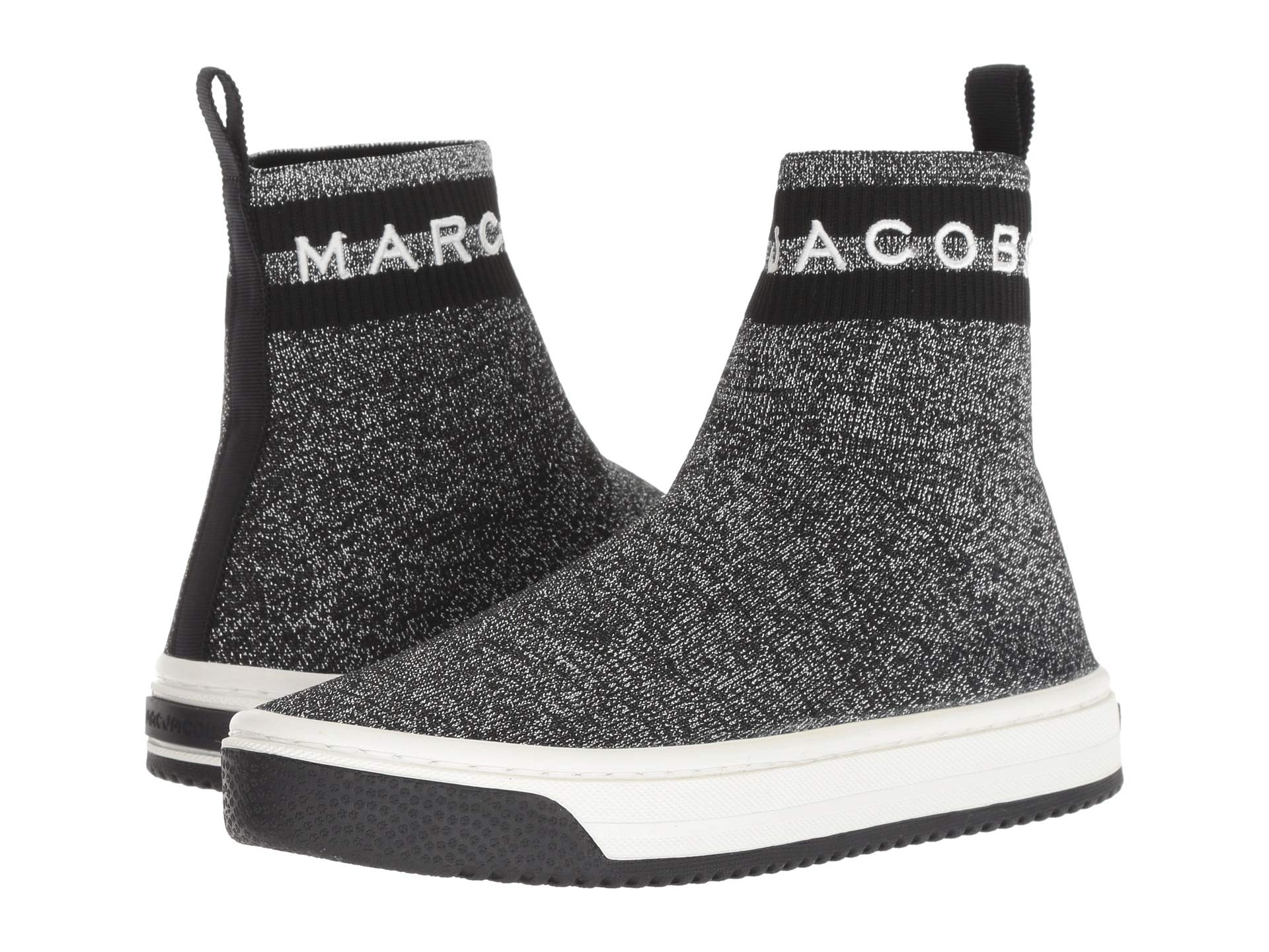 Marc Sock Sneaker Jacobs Dart Silver Multi rZqrxRzwF