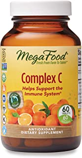 MegaFood, Complex C, Supports a Healthy Immune System, Antioxidant Vitamin C Supplement, Gluten Free, Vegan, 60 Tablets