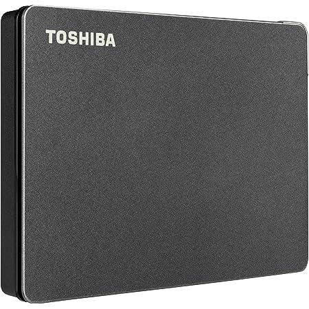 Toshiba Canvio Gaming 2TB Portable External Hard Drive USB 3.0, Black for PlayStation, Xbox, PC & Mac - HDTX120XK3AA