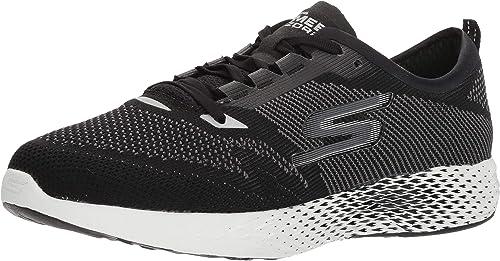 Skechers damen& 039;s Go MEB Razor 2 Run schuhe (7, schwarz Weiß)