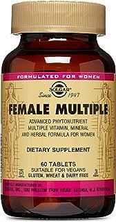 Solgar – Female Multiple, 60 Tablets