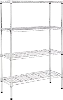 tall narrow wire shelving