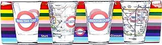 London Underground - Transport for London Shot Glass Set of 4