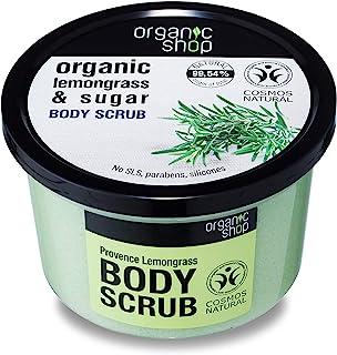 Organic Shop Provence Lemongrass Body Scrub, 250 ml