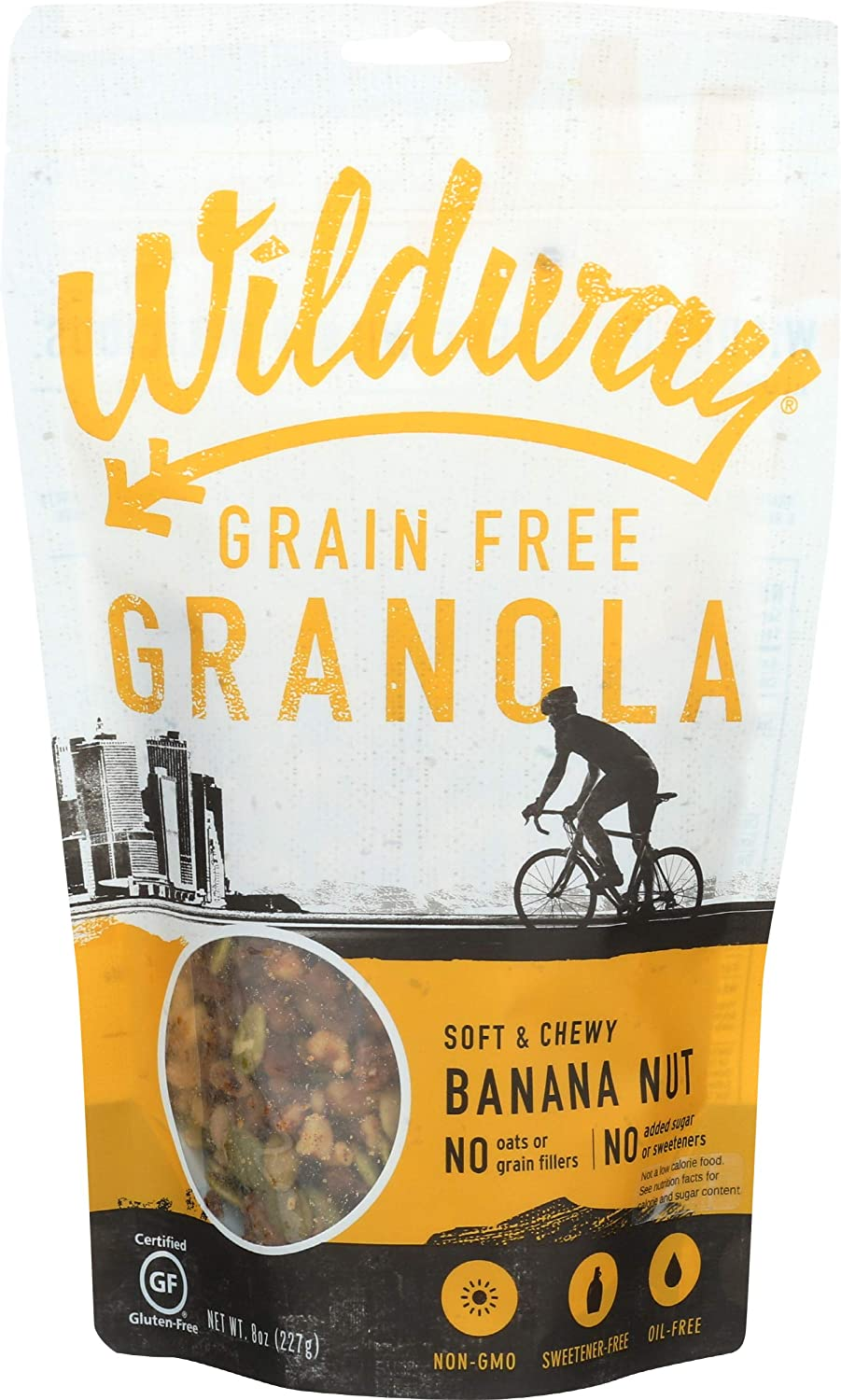 WILDWAY Banana Nut OZ 8 Granola Outlet Special sale item ☆ Free Shipping