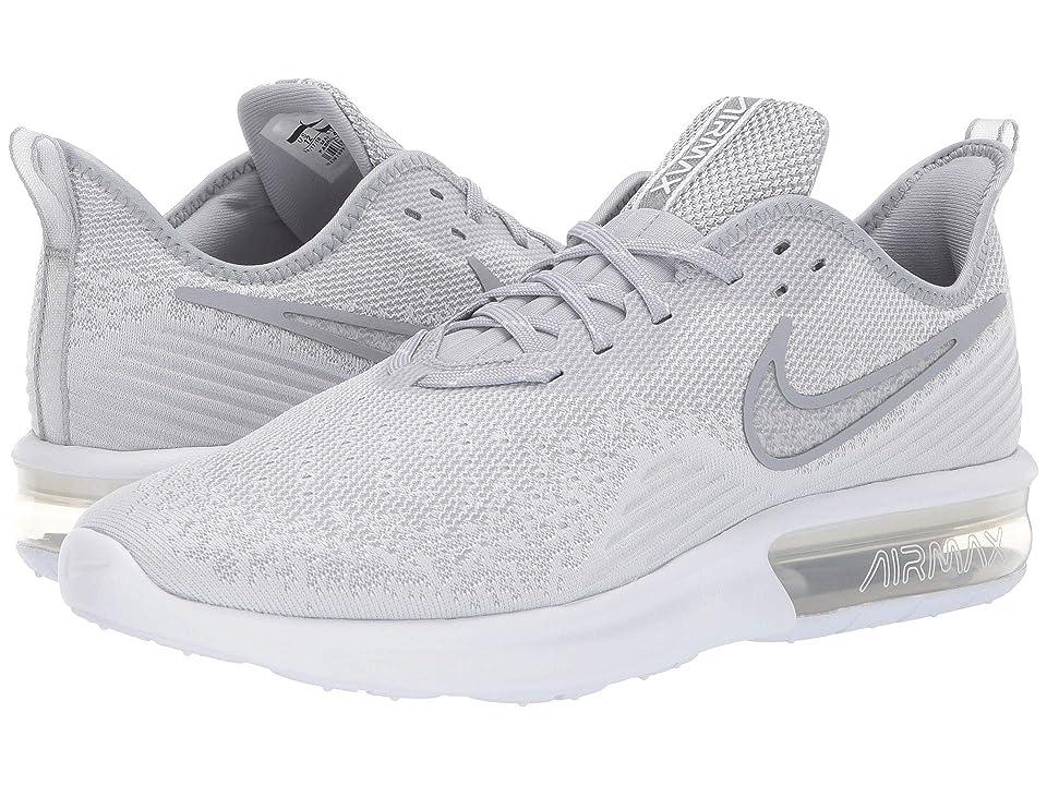 Nike Air Max Sequent 4 (White/White/Wolf Grey) Men
