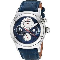 Deals on Seapro Chronoscope Quartz Leather Strap Men's Watch SP0132