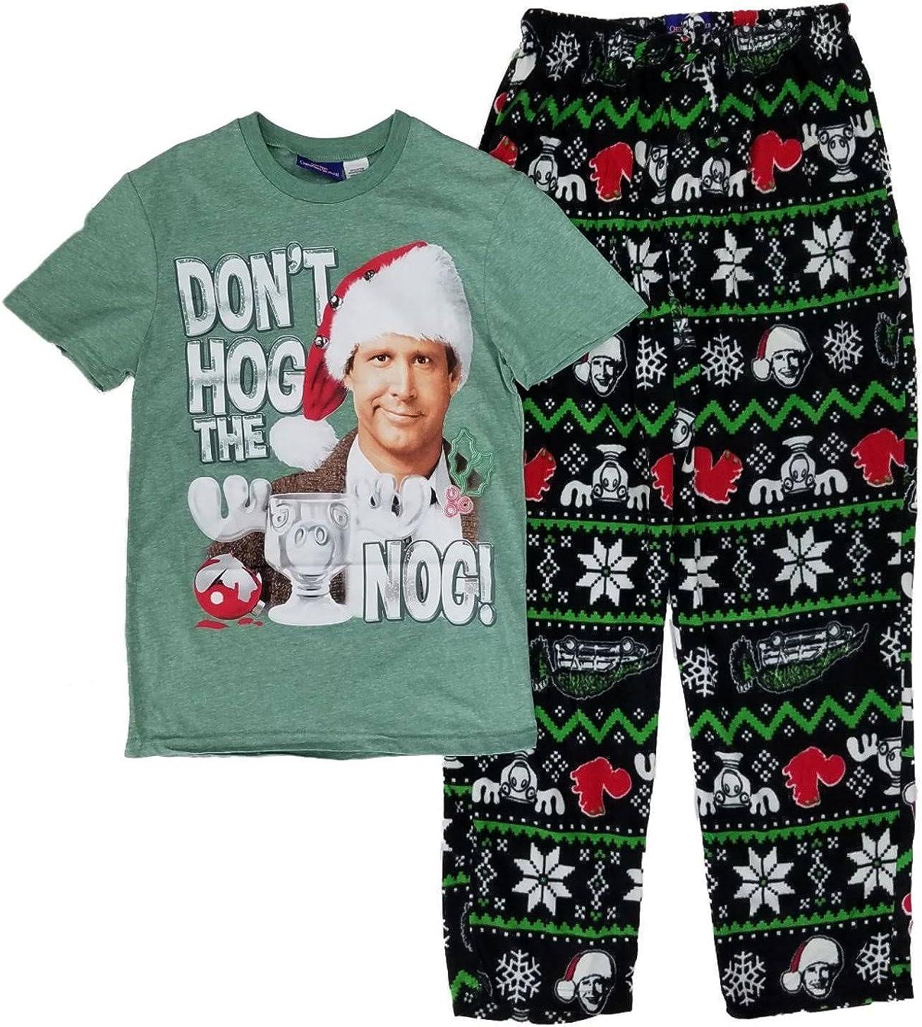 Christmas Vacation Don't Hog The Nog Lounge Sleep Pajama Set
