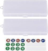 デジ基地 SOPMODバッテリー用ケース 2個セット(専用シール付)38710