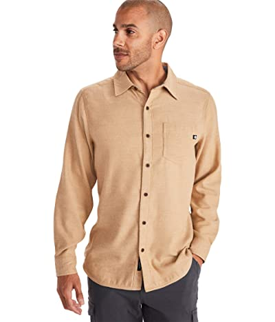Marmot Hobson Midweight Flannel Long Sleeve (Scotch Heather) Men