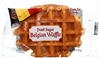 Authentic Imported Pearl Sugar Belgian Waffles (15 Count)