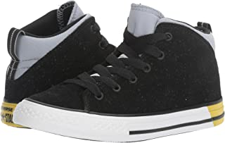 Converse Chuck Taylor Mid Lace Up Sneaker Black/Blue Grain